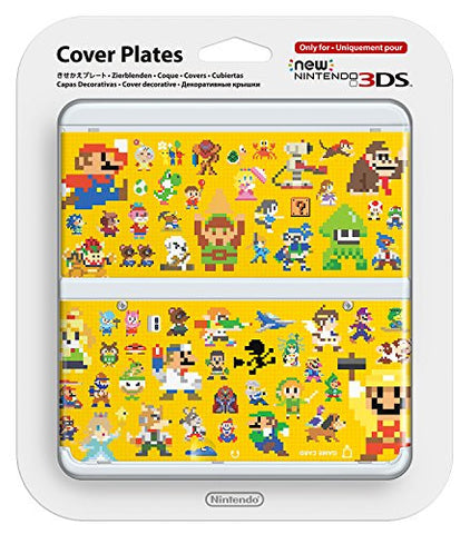 Image for New Nintendo 3DS Cover Plates No.067 (Super Mario Maker)