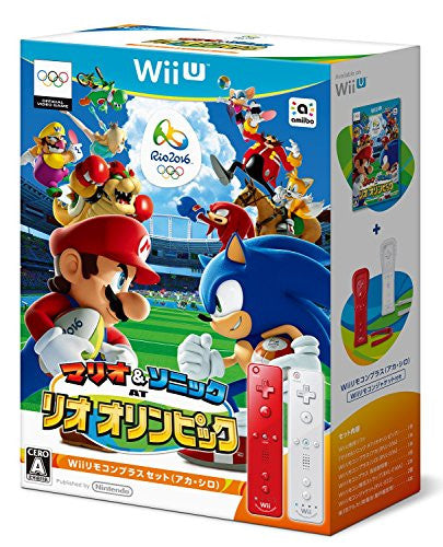 Image 1 for Mario & Sonic at the Rio 2016 Olympic Games [Wii Remote Control Plus Set] (Red & White)