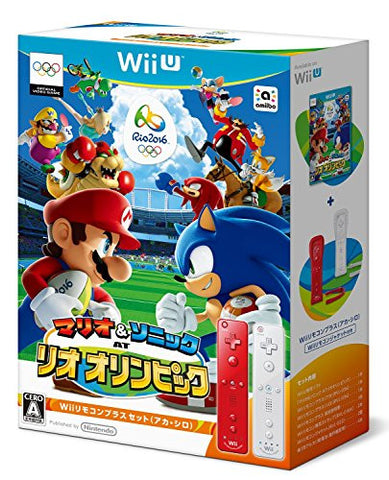 Mario & Sonic at the Rio 2016 Olympic Games [Wii Remote Control Plus Set] (Red & White)