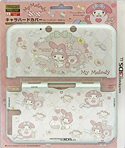 Image 1 for 3DS LL Character Hard Cover (My Melody Sugar Dream)