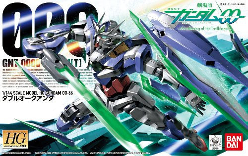 Image 1 for Gekijouban Kidou Senshi Gundam 00: A Wakening of the Trailblazer - GNT-0000 00 Qan[T] - HG00 #66 - 1/144 (Bandai)