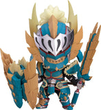 Monster Hunter World - Hunter - Nendoroid #1421 - Male Zinogre Alpha Armor Ver. (Good Smile Company) - 1
