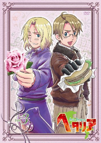Image 1 for Hetalia Axis Powers Vol.3 [DVD+CD Limited Edition]