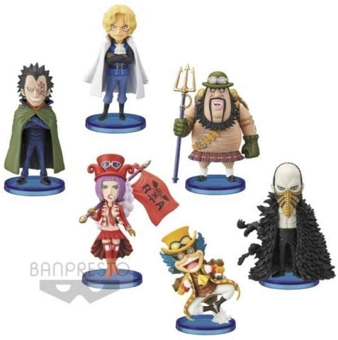 One Piece - Monkey D. Dragon - Sabo - Bello Betty - Morley - Lindbergh - Karasu - World Collectable Figure - Set of 6 Figures (Bandai Spirits)