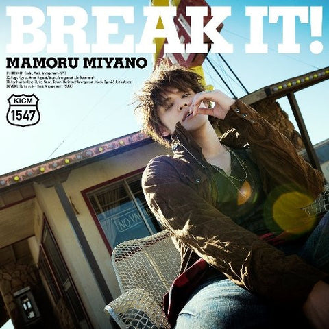 Image for BREAK IT! / Mamoru Miyano