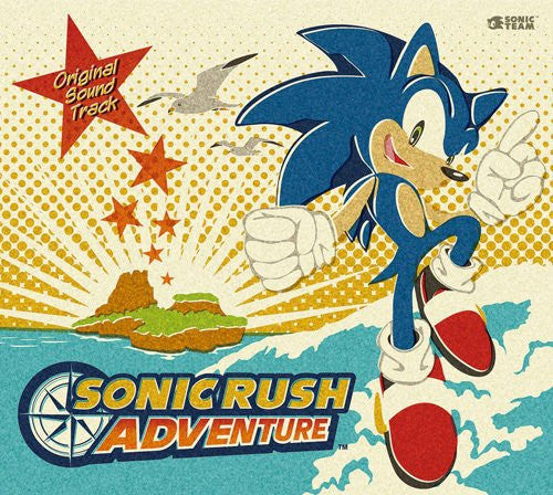 Image 1 for Sonic Rush Adventure Original Soundtrack