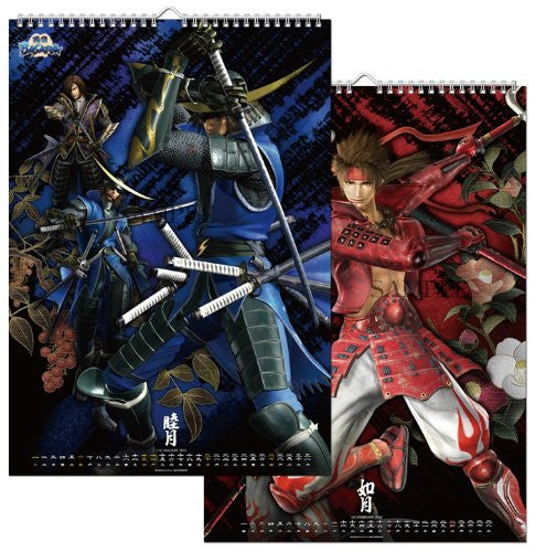 Image 2 for Sengoku Basara - Wall Calendar - 2013 (I's Entertainment)