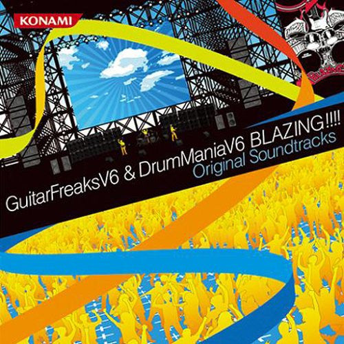 Image 1 for GuitarFreaksV6 & DrumManiaV6 BLAZING!!!! Original Soundtracks