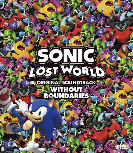Image 1 for SONIC LOST WORLD ORIGINAL SOUNDTRACK WITHOUT BOUNDARIES