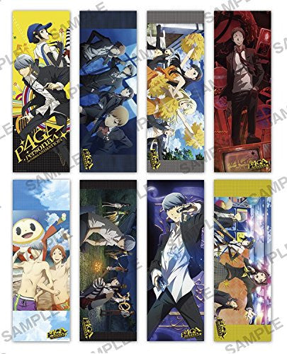 Image 1 for Persona 4: the Golden Animation - Amagi Yukiko - Shujinkou - Tatsumi Kanji - Kuma - Long Poster - Persona 4: The Golden Animation Long Poster Collection - Poster (Media Factory)