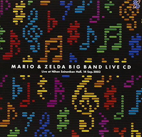 Image for MARIO & ZELDA BIG BAND LIVE CD