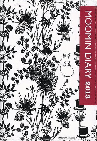 Image for Moomin Diary 2013 Cover Design By Bob Foundation Book