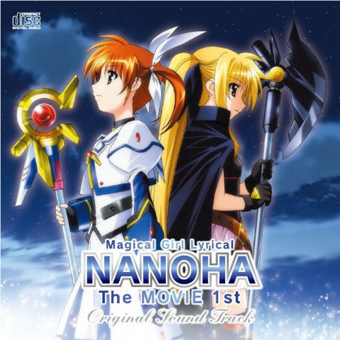 Image for Magical Girl Lyrical NANOHA The MOVIE 1st Original Sound Track