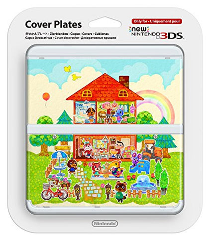 Image for New Nintendo 3DS Cover Plates No.062 (Animal Crossing Happy Home Designer)
