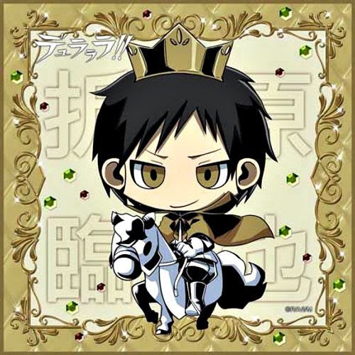 Image 1 for Durarara!! - Orihara Izaya - Towel - Mini Towel - Prince On a White Horse (Broccoli)
