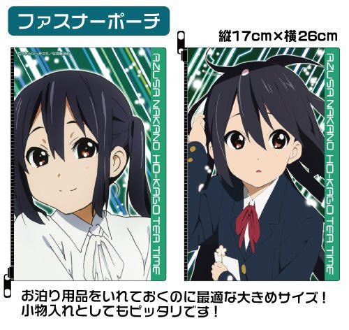 Image 2 for K-ON!! - Nakano Azusa - Face Towel - Mug - Pouch - AZUSA OTOMARI Set - GEE! Limited Ver. (Cospa)