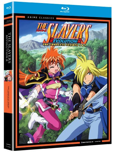 Image 1 for The Slayers: Revolution R - The Complete Seasons 4 and 5 [4-Disc Set]