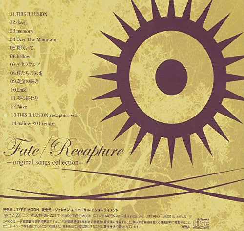 Image 2 for Fate/Recapture -original songs collection-