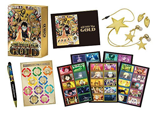 Image 4 for ONE PIECE FILM GOLD - DVD Golden Limited Edition (Amazon limited)