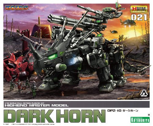 Image 7 for Zoids - DPZ-10 Darkhorn - Highend Master Model - 1/72 (Kotobukiya)