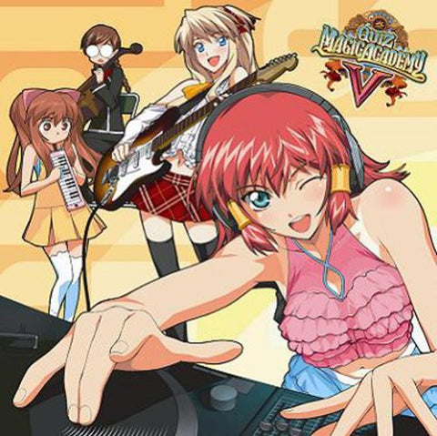 Image for QUIZ MAGIC ACADEMY V ORIGINAL SOUNDTRACK