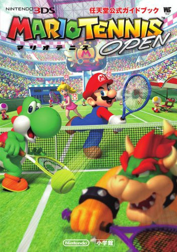 Image 1 for Mario Tennis Open Nintendo Official Guide Book / 3 Ds