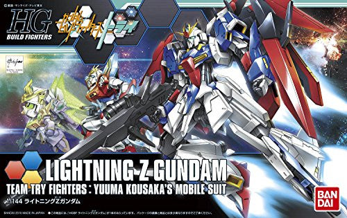 Image 4 for Gundam Build Fighters Try - Lightning Zeta Gundam - HGBF - 1/144 (Bandai)