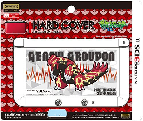 Image 1 for Pokemon Hard Cover for 3DS LL (Genshi Groudon)