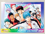 Thumbnail 1 for Kuroko no Basket - Comic Calendar - Wall Calendar - 2013 (Shueisha)[Magazine]