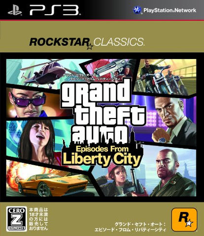 Grand Theft Auto: Episodes from Liberty City [Rockstar Classics Version]