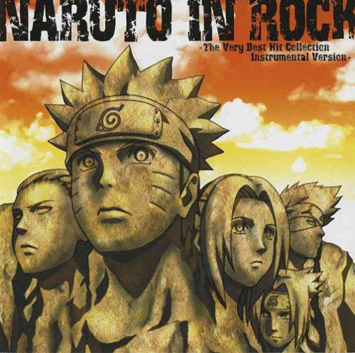 Image 1 for NARUTO IN ROCK -The Very Best Hit Collection Instrumental Version-