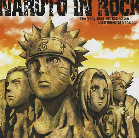 Image for NARUTO IN ROCK -The Very Best Hit Collection Instrumental Version-