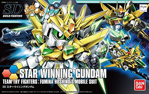 Image 3 for Gundam Build Fighters Try - SD-237S Star Winning Gundam - HGBF - SDBF (Bandai)
