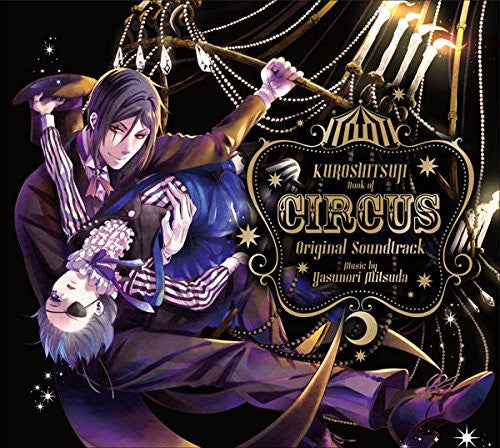 Image 1 for Kuroshitsuji Book of Circus Original Soundtrack