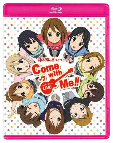 Image for K-ON! K-ON! Live Event - Come With Me! [Limited Edition]