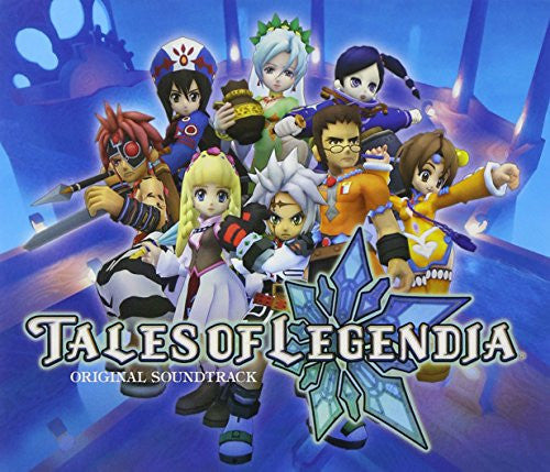 Image 1 for TALES OF LEGENDIA ORIGINAL SOUNDTRACK