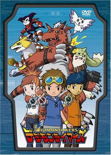 Image 1 for Digimon Tamers DVD Box