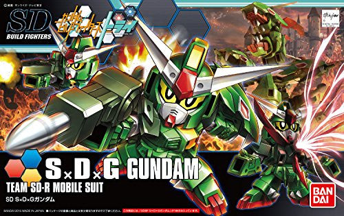 Image 4 for Gundam Build Fighters Try - SDG-R3 Giracanon Gundam - SDBF (Bandai)