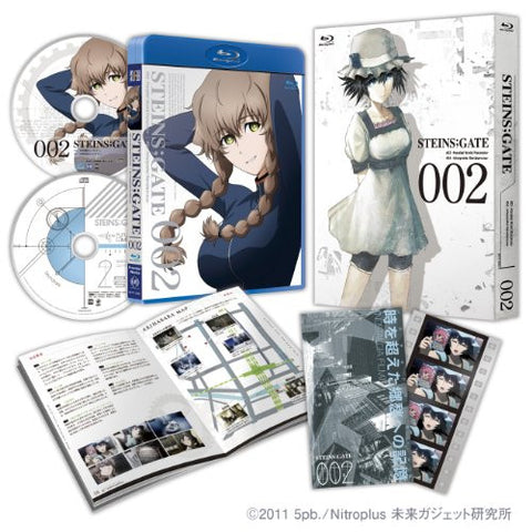 Image for Steins;Gate Vol.2 [Blu-ray+CD Limited Edition]