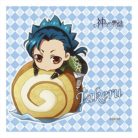 Image for Kamigami no Asobi - Ludere deorum - Totsuka Takeru - Mini Towel - Towel (Contents Seed)