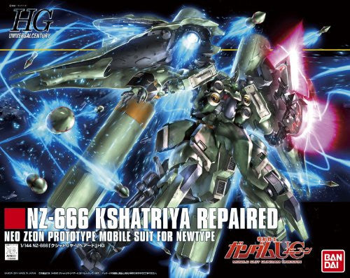Image 3 for Kidou Senshi Gundam UC - NZ-666 Kshatriya - HGUC - 1/144 - Repaired (Bandai)