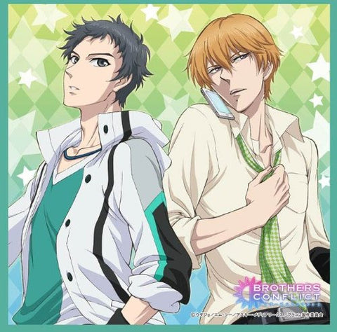 Image for Brothers Conflict - Asahina Subaru - Asahina Natsume - Mini Towel (Broccoli)