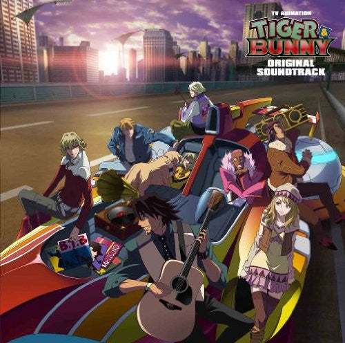 Image 1 for TV ANIMATION TIGER & BUNNY ORIGINAL SOUNDTRACK