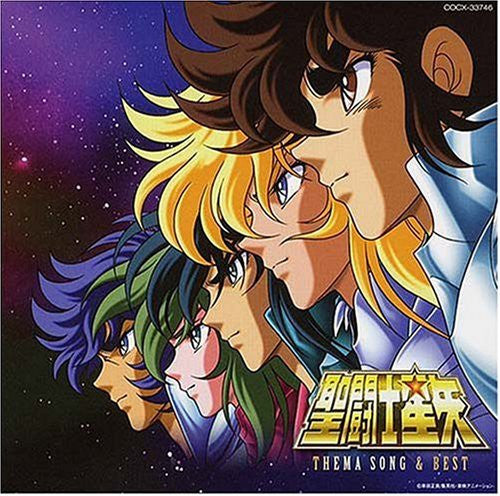 Image 1 for Saint Seiya THEMA SONG & BEST