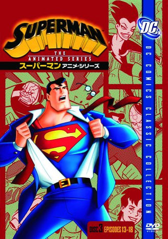 Image for Superman Anime Series Disc3 [Limited Pressing]