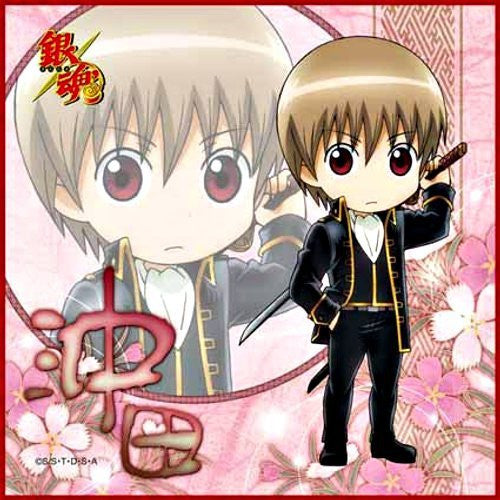 Image 1 for Gintama - Okita Sougo - Towel - Mini Towel - ver,6 (Broccoli)
