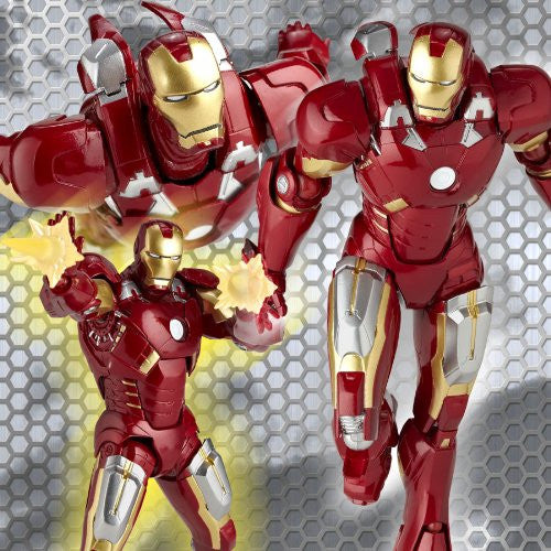 Image 3 for The Avengers - Iron Man Mark VII - Revoltech - Revoltech SFX #42 (Kaiyodo)