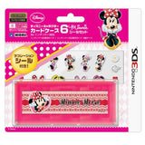 Thumbnail 1 for Disney Character Card Case 6 Seal Set for Nintendo 3DS (Minnie)