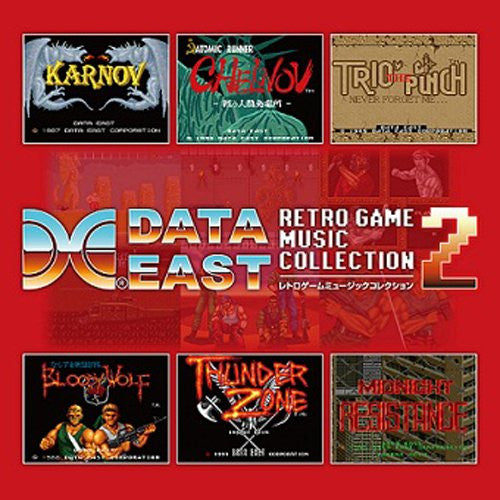 Image 1 for DATA EAST RETRO GAME MUSIC COLLECTION 2