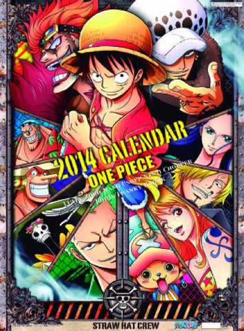 Image for One Piece - Wall Calendar - 2014 (Ensky)[Magazine]